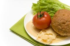 Ingridients do sanduíche Fotografia de Stock