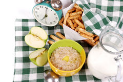 Ingridients For Health Breakfast Royalty Free Stock Photos
