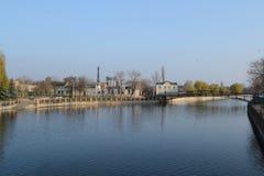 Ingul-Fluss Lizenzfreies Stockfoto