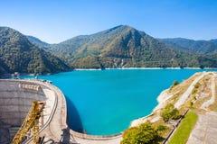 Inguri reservoir, Georgia Stock Images