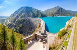 Inguri reservoir, Georgia Stock Photos