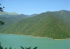 Inguririvier in Georgië Royalty-vrije Stock Afbeeldingen