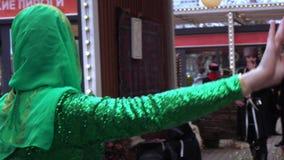 Ingush Chechen folk dances stock video