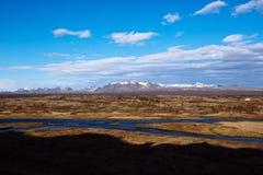 Þingvellir, Iceland Royalty Free Stock Photos