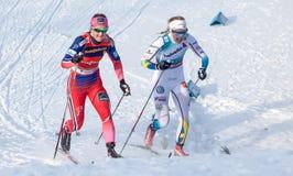 Ingvild Flugstad Østberg和斯蒂娜尼尔森 库存图片