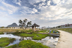 Ingxi, a Chinese county with Vietnamese style, located at the bo Stock Photo