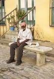 Inhabitant of Havana town. Cuba Stock Images