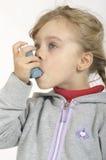 Inhalación Imagen de archivo libre de regalías