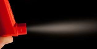 Inhalador del asma Imágenes de archivo libres de regalías