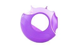 Inhalador púrpura del asma Imagen de archivo libre de regalías