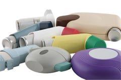 Inhaladores Imagen de archivo