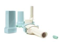 Inhalateurs Photos libres de droits