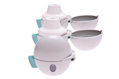 Inhalateurs gris images stock