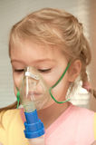 Inhalatie royalty-vrije stock foto's