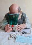 Inhalatie Royalty-vrije Stock Fotografie
