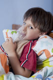 Inhalation_01 Royalty Free Stock Image