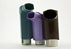 Inhalator mit einer Droge lizenzfreie stockfotos