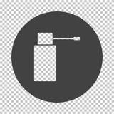 Inhalatorpictogram stock illustratie