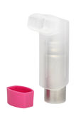 inhaler κουκουλών άσθματος ρ&omi Στοκ φωτογραφίες με δικαίωμα ελεύθερης χρήσης