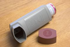 inhaler Royaltyfri Foto