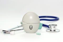 Inhaler COPD Στοκ φωτογραφία με δικαίωμα ελεύθερης χρήσης
