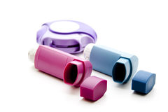 Inhalers Royalty Free Stock Photo