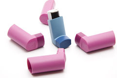 Inhalers Stock Photography