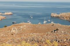 Inham aan de Portugese kust waar diverse holenreis is Royalty-vrije Stock Fotografie