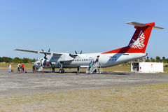 Inhambane Airport, Mozambique Stock Photo