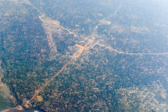 Inhambane Province Aerial View - Mozambique Royalty Free Stock Images
