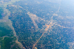 Inhambane Province Aerial View - Mozambique Royalty Free Stock Photos
