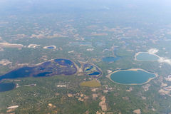 Inhambane Province Aerial View - Mozambique Stock Photography