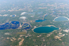 Inhambane Province Aerial View - Mozambique Stock Photos