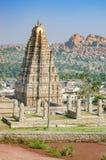 InHampi del templo de Virupaksha, la India imágenes de archivo libres de regalías