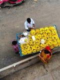 Inhandlade bananer Fotografering för Bildbyråer
