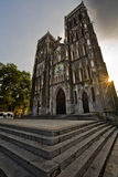 inhanoi Joseph s ST Βιετνάμ καθεδρικών ναώ& στοκ φωτογραφία με δικαίωμα ελεύθερης χρήσης