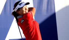 Inhee lee at the ANA inspiration golf tournament 2015 Royalty Free Stock Image