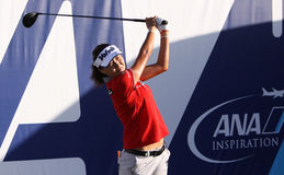 Inhee lee at the ANA inspiration golf tournament 2015 Royalty Free Stock Photos
