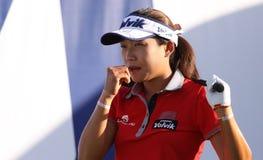 Inhee zawietrzny przy ANA inspiraci golfa turniejem 2015 Obrazy Royalty Free