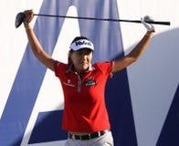 Inhee zawietrzny przy ANA inspiraci golfa turniejem 2015 Fotografia Stock