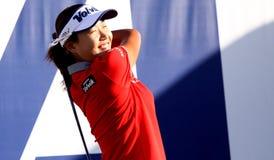 Inhee zawietrzny przy ANA inspiraci golfa turniejem 2015 Obraz Royalty Free