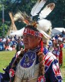Inheems Amerikaans belangrijkst Seattle Pow wauw Royalty-vrije Stock Foto's