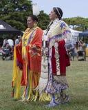 Inheems Amerikaans kostuum royalty-vrije stock foto
