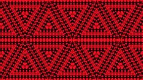 Inheems Amerikaans naadloos patroon stock illustratie
