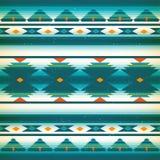 Inheems Amerikaans patroon Vector Amerikaanse Indiërs stock illustratie