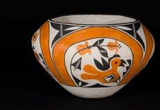 Inheems Amerikaans Pueblo-Aardewerk Royalty-vrije Stock Afbeeldingen
