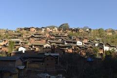 Inheems dorp Royalty-vrije Stock Fotografie
