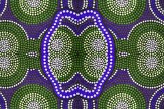 Inheems kledingstuk in detail Royalty-vrije Stock Afbeeldingen
