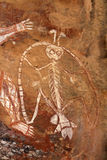 Inheems rotsart. Royalty-vrije Stock Foto's