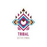 Inheems stammenembleem Royalty-vrije Stock Fotografie